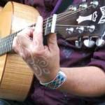 La musique sur la guitare